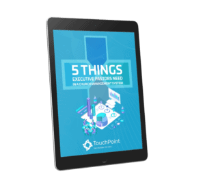 5 Things XPs need in a ChMS ebook