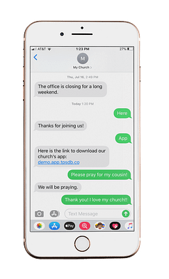 CONNECT WITH TWO-WAY SMS